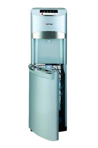 Кулер 45AS 1шт.Кулеры для воды<br>В модели HotFrost 45 AS используется современный способ загрузки бутыли с водой, характерный для дорогих премиальных моделей кулеров - установка бутыли в нижний встроенный шкафчик.<br>