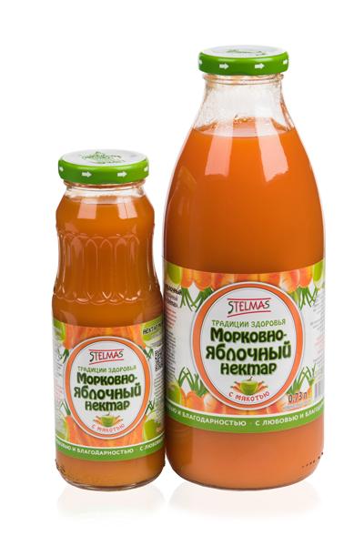 Рецепты морковно яблочного сока